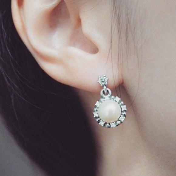 Pandora Jewelry - Pandora Everlasting Grace Drop Earrings
